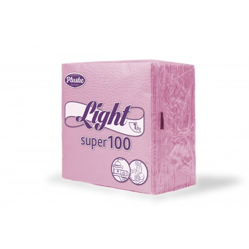 Салфетки Plushe LIGHT Super100 75 листов