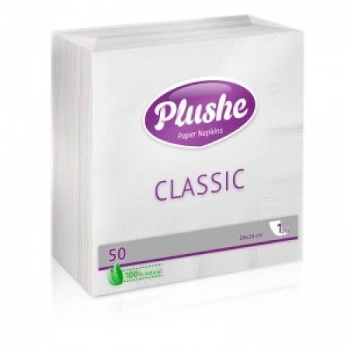 Салфетки Plushe CLASSIC 50 листов