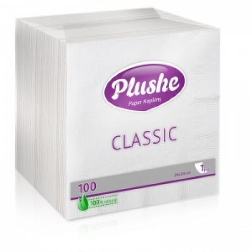Салфетки Plushe CLASSIC 100 листов
