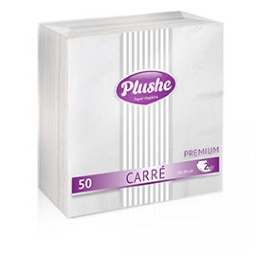 Салфетки Premium Carre 50