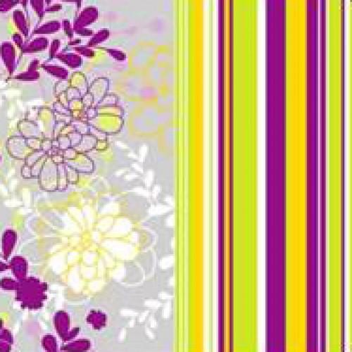 Салфетки бумажные Цветочная тропинка